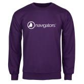 Purple Fleece Crew-Navigators