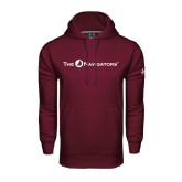 Under Armour Maroon Performance Sweats Team Hoodie-The Navigators