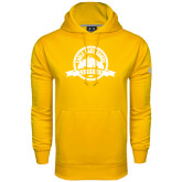 Under Armour Gold Performance Sweats Team Hoodie-Eagle Lake Badge