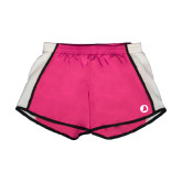 Ladies Fuchsia/White Team Short-Navigators Sail
