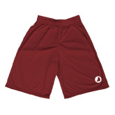 Midcourt Performance Maroon 9 Inch Game Short-Navigators Sail