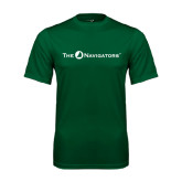 Performance Dark Green Tee-The Navigators