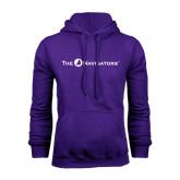 Purple Fleece Hood-The Navigators