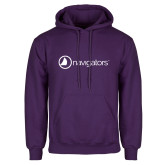 Purple Fleece Hoodie-Navigators