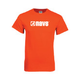 Orange T Shirt-NAVS