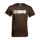 Brown T Shirt-NAVS