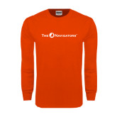 Orange Long Sleeve T Shirt-The Navigators