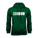 Dark Green Fleece Hood-NAVS