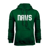 Dark Green Fleece Hood-NAVS Collegiate Modern