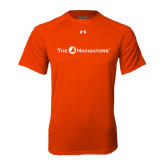 Under Armour Orange Tech Tee-The Navigators