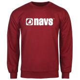 Cardinal Fleece Crew-NAVS