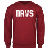 Cardinal Fleece Crew-NAVS Collegiate Modern