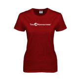 Ladies Cardinal T Shirt-The Navigators