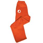 Champion PowerBlend Orange Fleece Open Bottom Pant-Navigators Sail
