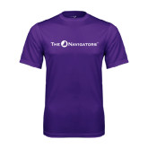 Syntrel Performance Purple Tee-The Navigators