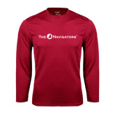 Syntrel Performance Cardinal Longsleeve Shirt-The Navigators