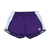 Ladies Purple/White Team Short-Navigators Sail
