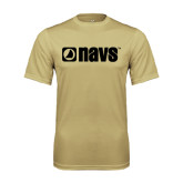 Syntrel Performance Vegas Gold Tee-NAVS
