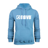 Light Blue Fleece Hoodie-NAVS