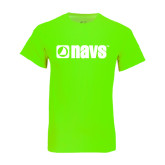 Neon Green T Shirt-NAVS