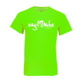 Neon Green T Shirt-Eagle Lake Camps