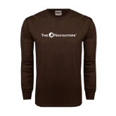 Brown Long Sleeve TShirt-The Navigators