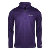 Russell Purple Heather 1/4 Zip-Navigators
