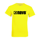 Neon Yellow T Shirt-NAVS