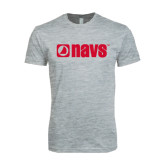 Next Level SoftStyle Heather Grey T Shirt-NAVS