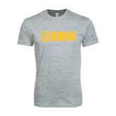 Next Level SoftStyle Heather Grey T Shirt-NAVS