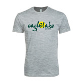 Next Level SoftStyle Heather Grey T Shirt-Eagle Lake Camps