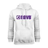 White Fleece Hood-NAVS
