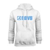 White Fleece Hoodie-NAVS