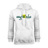 White Fleece Hoodie-Eagle Lake Camps