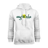 White Fleece Hoodie-Eagle Lake Camps
