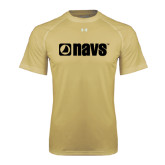 Under Armour Vegas Gold Tech Tee-NAVS