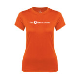 Ladies Syntrel Performance Orange Tee-The Navigators