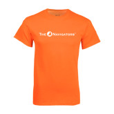 Neon Orange T Shirt-The Navigators