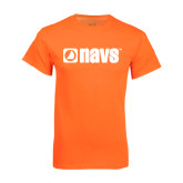 Neon Orange T Shirt-NAVS