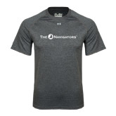 Under Armour Carbon Heather Tech Tee-The Navigators