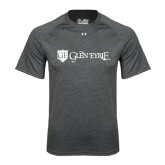 Under Armour Carbon Heather Tech Tee-Glen Eyrie - Flat