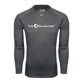 Under Armour Carbon Heather Long Sleeve Tech Tee-The Navigators