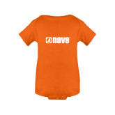 Orange Infant Onesie-NAVS
