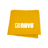 Navigators Gold Sweatshirt Blanket-NAVS