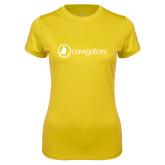 Ladies Syntrel Performance Gold Tee-Navigators