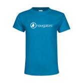 Youth Sapphire T Shirt-Navigators