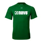 Under Armour Kelly Green Tech Tee-NAVS