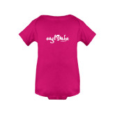 Fuchsia Infant Onesie-Eagle Lake Camps