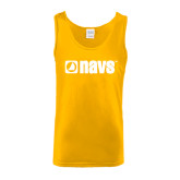 Gold Tank Top-NAVS