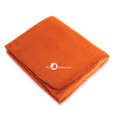 Orange Arctic Fleece Blanket-The Navigators